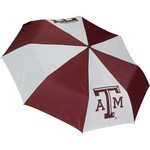 "Storm Duds Texas A&M University 42"" Super Pocket Mini Folding Umbrella"