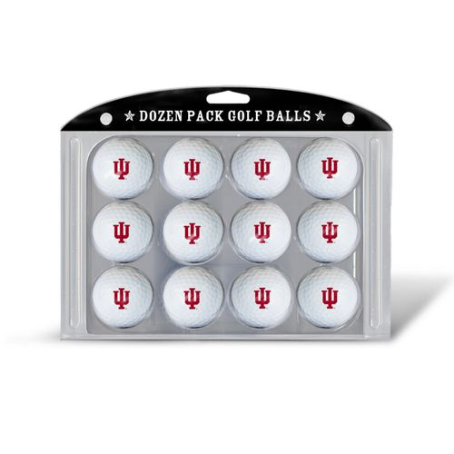 Team Golf Indiana University Golf Balls 12-Pack