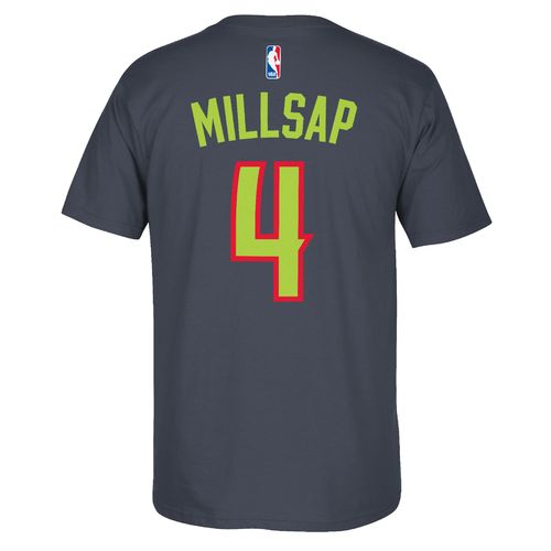 adidas™ Men's Atlanta Hawks Paul Millsap #4 7 Series T-shirt