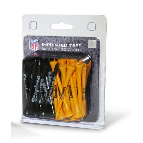 Team Golf Pittsburgh Steelers Golf Tees 50-Pack