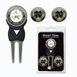 Team Golf University of Notre Dame Divot Tool and Ball Marker Set