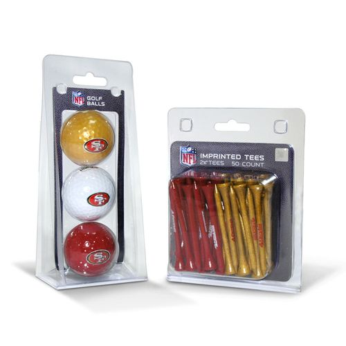 Team Golf San Francisco 49ers Golf Balls and