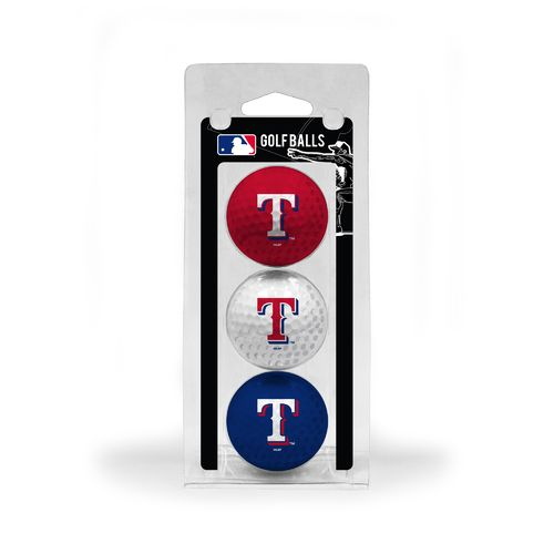 Team Golf Texas Rangers Golf Balls 3-Pack