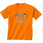 New World Graphics Toddlers' University of Tennessee No Evil T-shirt