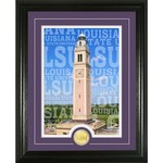 The Highland Mint Louisiana State University Campus Traditions Bronze Coin Photo Mint