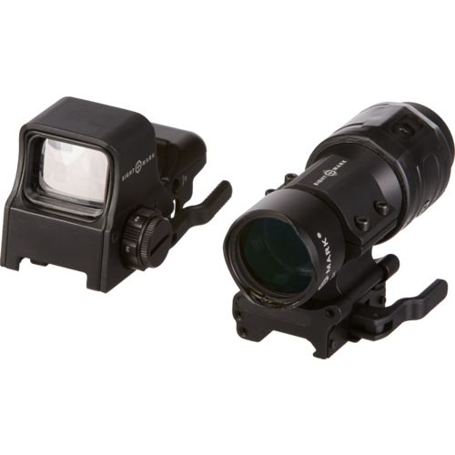Sightmark Ultra Shot QD and 3x Tactical Magnifier