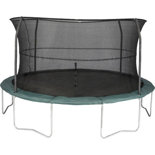 Jumpking Orbounder 14' Round Trampoline with Enclosure