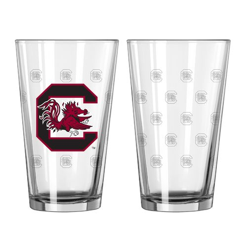 Boelter Brands University of South Carolina Game Day 16 oz. Pint Glasses 2-Pack