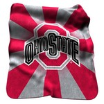 Logo Ohio State University Raschel Throw