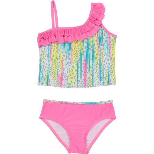 O'Rageous Kids Girls' Wild Rumpus 2-Piece Tankini