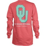 Three Squared Juniors' University of Oklahoma Octagon Mascot T-shirt