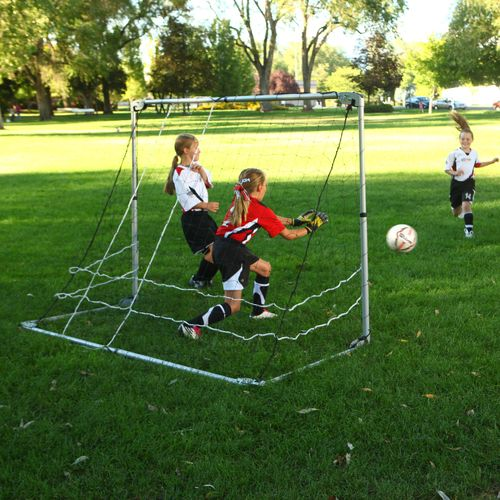 Lifetime 5 ft x 7 ft Adjustable Soccer Goal - view number 4