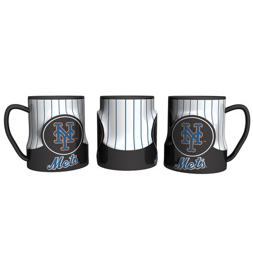 Boelter Brands New York Mets Gametime 18 oz. Mugs 2-Pack