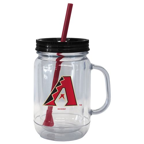 Boelter Brands Arizona Diamondbacks 20 oz. Handled Straw Tumblers 2-Pack