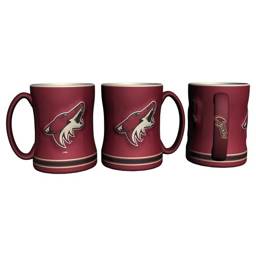 Boelter Brands Phoenix Coyotes 14 oz. Relief Mugs 2-Pack - view number 1