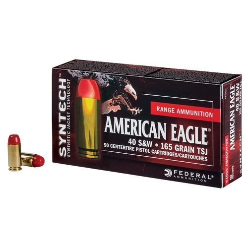 Federal® American Eagle® Syntech™ Training .40 S&W 165-Grain Ammunition - view number 1