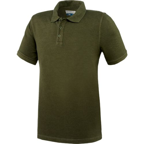 Magellan Outdoors™ Men's Rugged Heritage Fuzzy Pigment Dye Polo Shirt