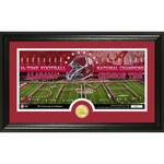 The Highland Mint University of Alabama 16-Time Football National Champions Coin Panoramic Photo Min