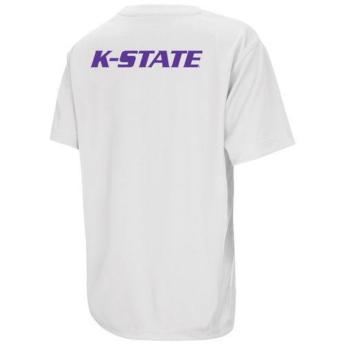 Colosseum Athletics Boys' Kansas State University Pixel Short Sleeve T-shirt - view number 2
