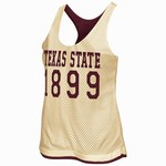 Colosseum Athletics Women's Texas State University Triple Crown Reversible Tank Top
