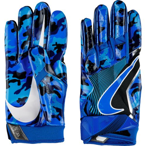Nike Football Gloves: Nike Men's Vapor Jet 4 Camo Football Gloves