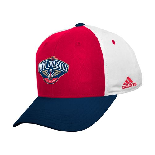 adidas™ Kids' New Orleans Pelicans Colorblock Basic Structured Adjustable Cap