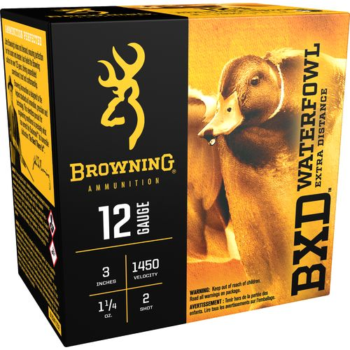 Browning BXD Extra-Distance Steel Waterfowl 12 Gauge Shotshells - view number 1