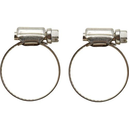 Marine Raider Stainless-Steel Hose Clamps 2-Pack