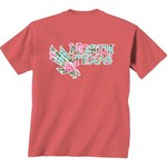 New World Graphics Women's University of North Texas Floral T-shirt