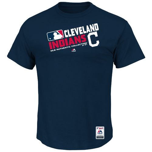 Majestic Men's Cleveland Indians On Field Team Choice