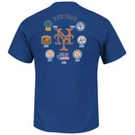 Majestic Men's New York Mets Last Rally T-shirt