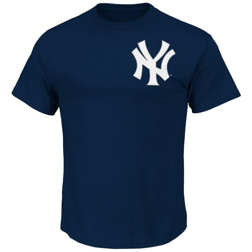 Majestic Men's New York Yankees Alex Rodriguez #13 T-shirt - view number 2