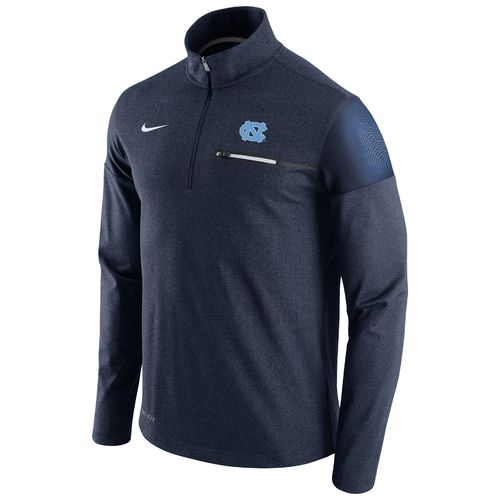 Nike™ Men's University of North Carolina Coaches 1/2 Zip Jacket