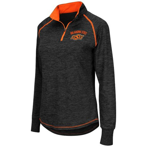 Colosseum Athletics™ Women's Oklahoma State University Bikram 1/4 Zip Pullover
