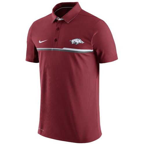 Nike Men's University of Arkansas Elite Polo Shirt