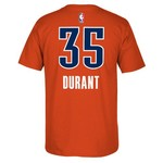 adidas Men's Oklahoma City Thunder Kevin Durant #35 7 Series T-shirt