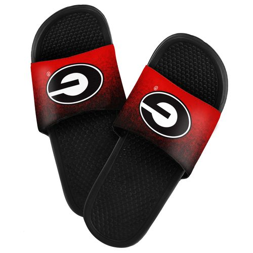Forever Collectibles™ Men's University of Georgia Textured Sport Slides