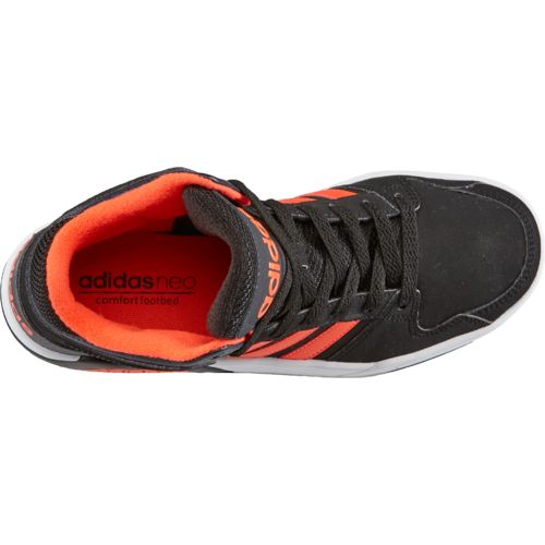 adidas Kids' Neo BB9TIS Mid-Top Basketball Shoes - view number 4