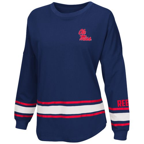 Colosseum Athletics™ Women's University of Mississippi All Around Oversize Long Sleeve T-sh
