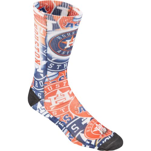 FBF Originals Men's Houston Astros Flashback Sublimated Socks