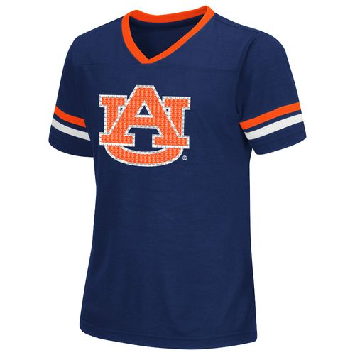 Colosseum Athletics™ Girls' Auburn University Titanium T-shirt