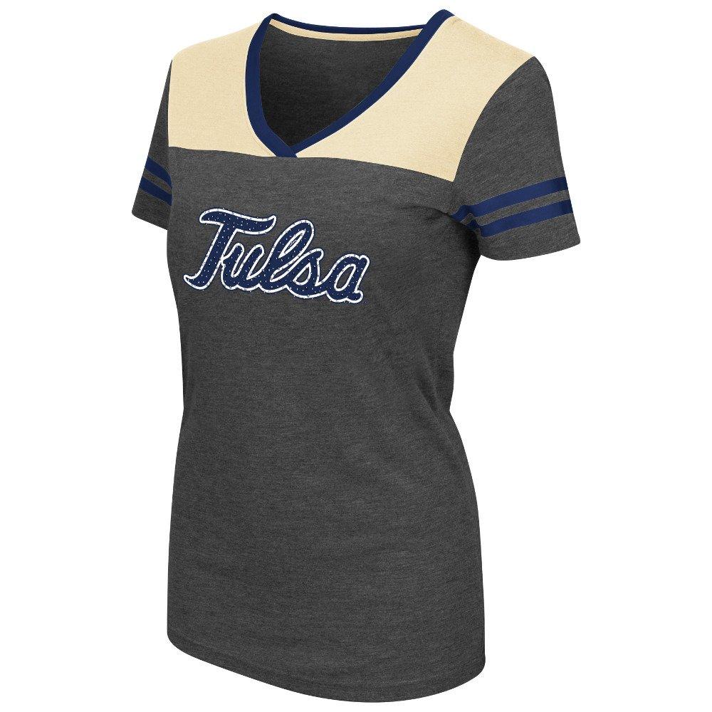 Colosseum Athletics™ Women's University of Tulsa Twist V-neck T-shirt
