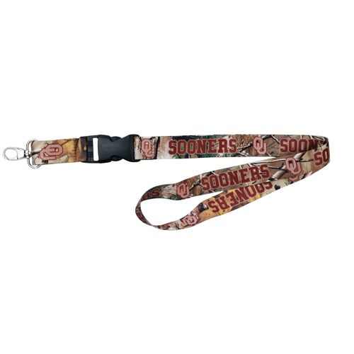 NCAA University of Oklahoma Realtree Xtra® Lanyard