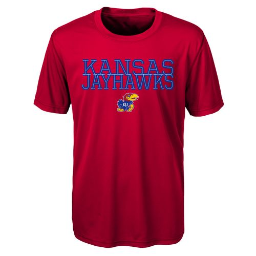 Gen2 Toddlers' University of Kansas Overlap T-shirt - view number 1