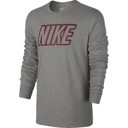 Display product reviews for Nike Men's Block Long Sleeve T-shirt