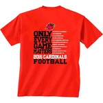 New World Graphics Men's Lamar University Schedule T-shirt