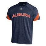 Under Armour™ Boys' Auburn University Short Sleeve Microstripe T-shirt