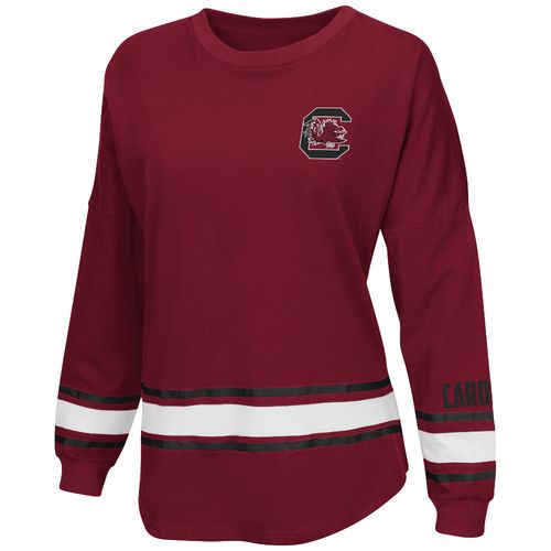 Colosseum Athletics™ Women's University of South Carolina All Around Oversize Long Sleeve T