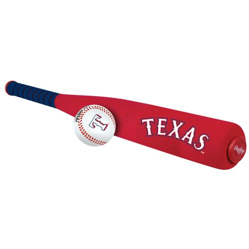 Jarden Sports Licensing Texas Rangers Foam Bat and Ball Set - view number 2
