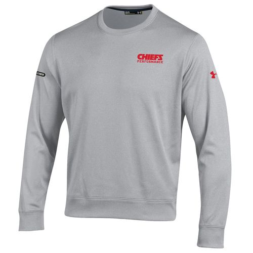 Under Armour™ NFL Combine Authentic Men's Kansas City Chiefs Armour® Fleece Crew Pullo